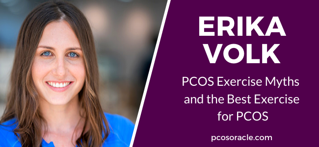 Erika Volk exercise for PCOS ep.43